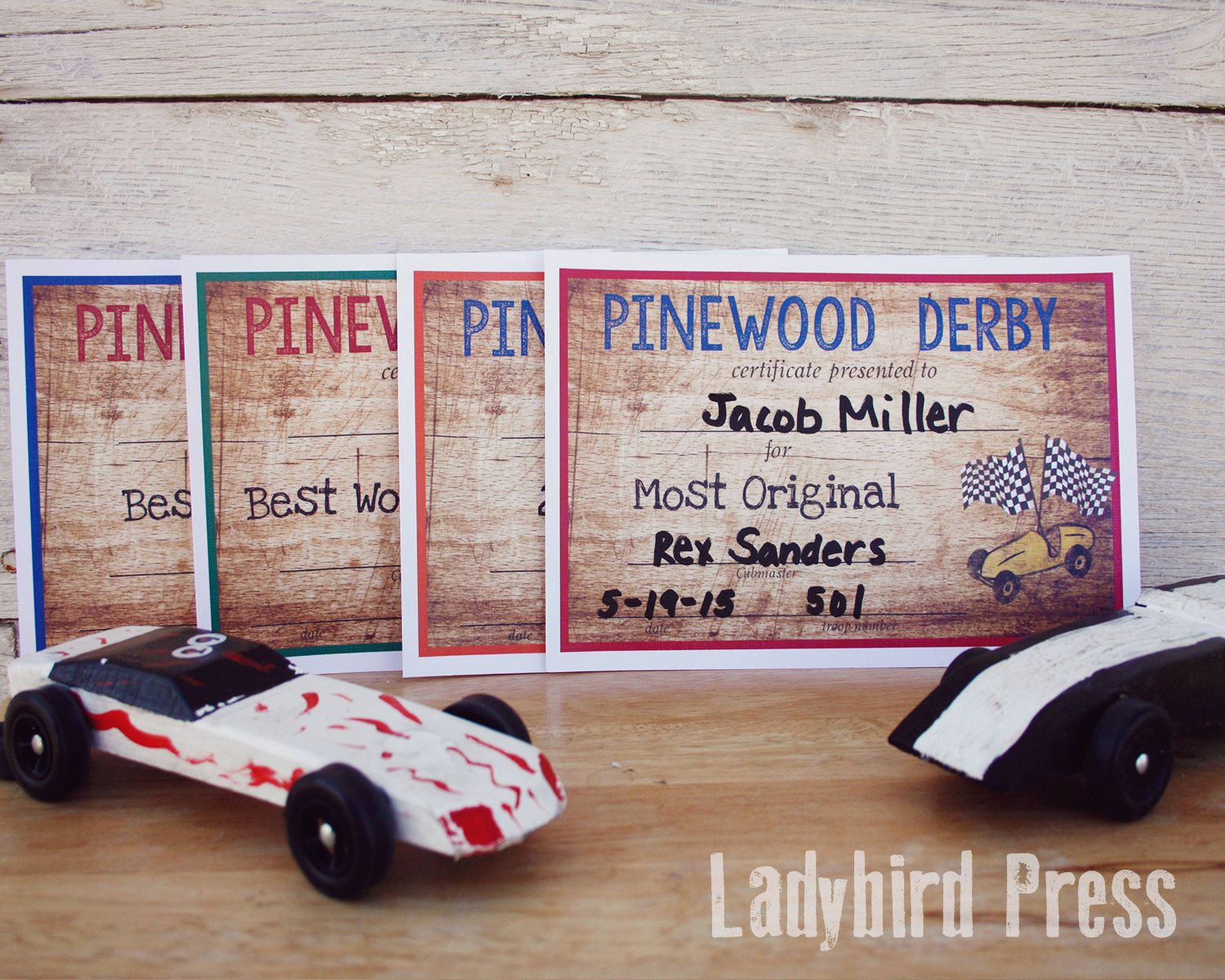 picture about Pinewood Derby Awards Printable known as Pin upon Ladybird Push