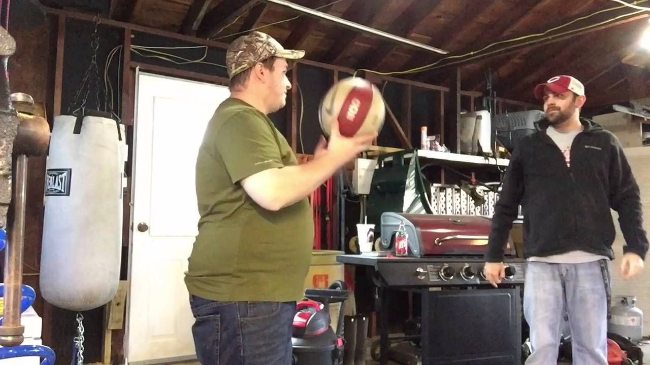 Spinning A Basketball On Your Finger