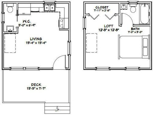 Details about 16x30 House -- 2 Bedroom -- PDF Floor Plan -- 878 sq on house floor plans 30x40, house floor plans 24 x 36, house floor plans 24x40, house floor plans 26x26, house floor plans 16x28, house floor plans 14x30, house floor plans 50x50, house floor plans 15x25, house floor plans 16x30, house floor plans 36x48,
