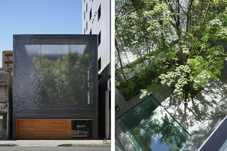 Beautiful Hiroshimau0027s Optical Glass House Hides A Secret Garden Behind Its Glazed  Façade Gallery
