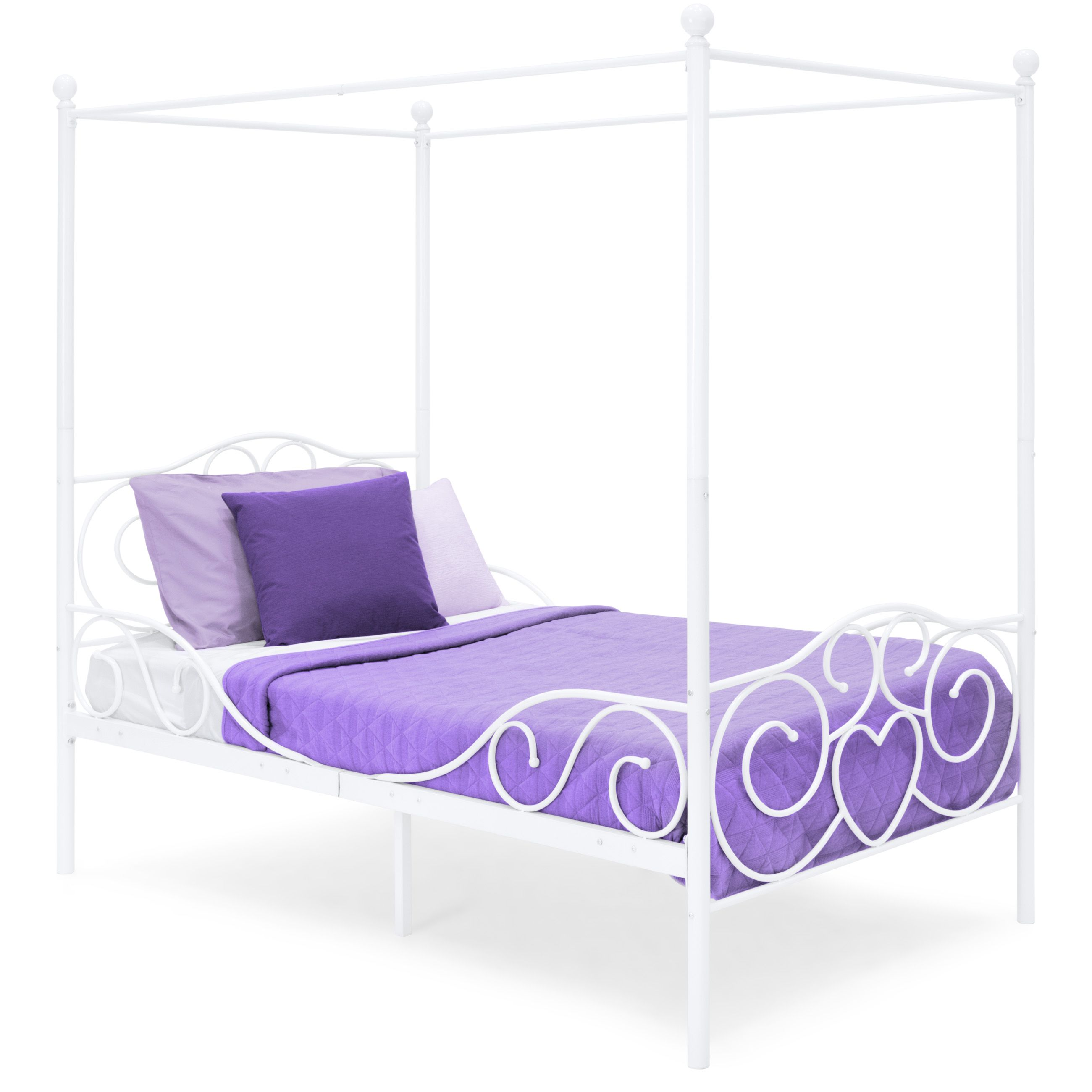 Home Canopy bedroom, Bed frame, Metal canopy
