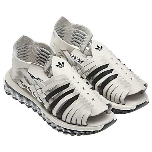uk availability f846e 49856 Adidas Jeremy Scott MEGA Soft Cell Sandals. I would look crazy in these,  but well played, Mr. Scott.