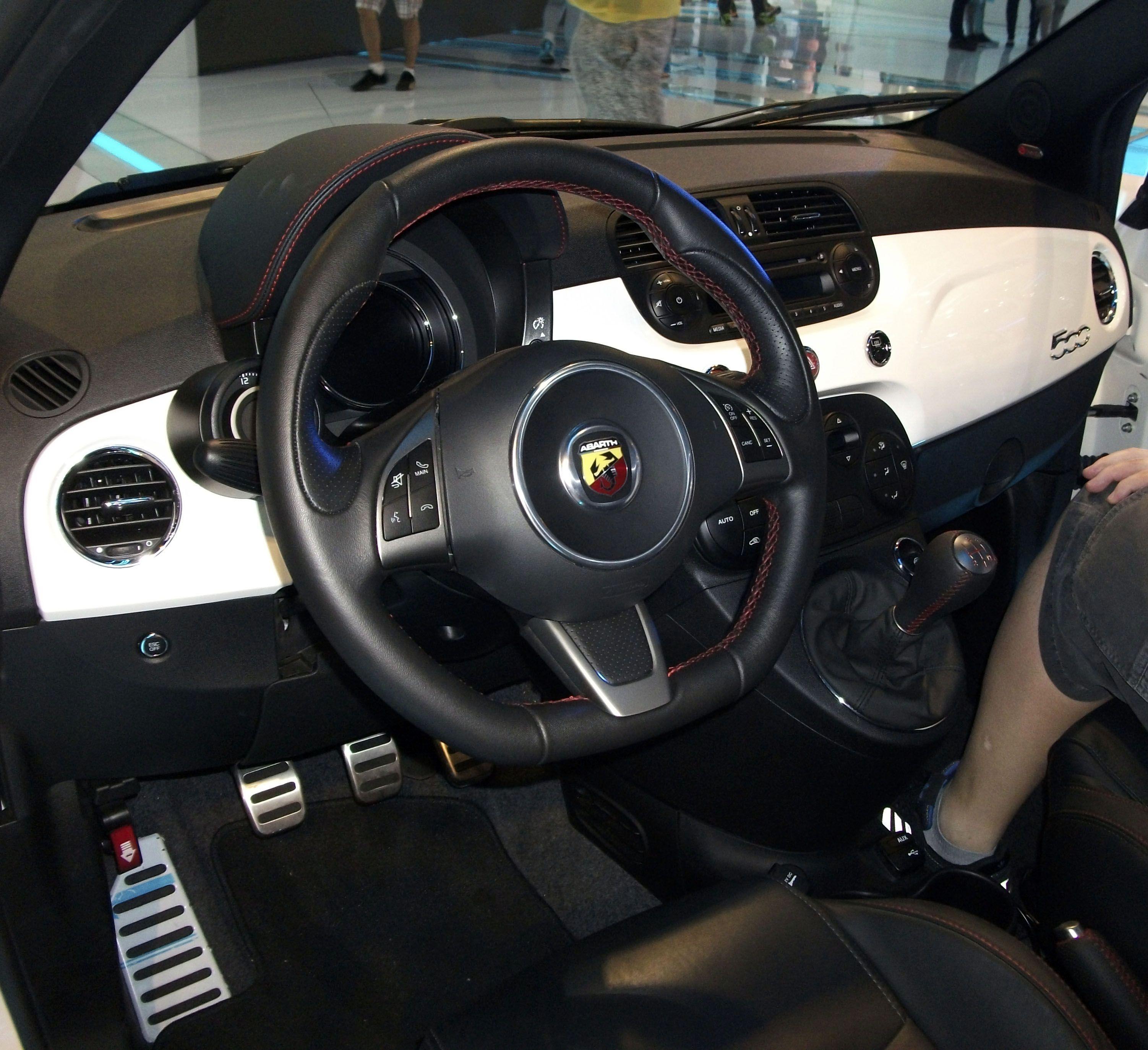 Fiat 500 Abarth interior | Fiat | Pinterest | Fiat and Cars