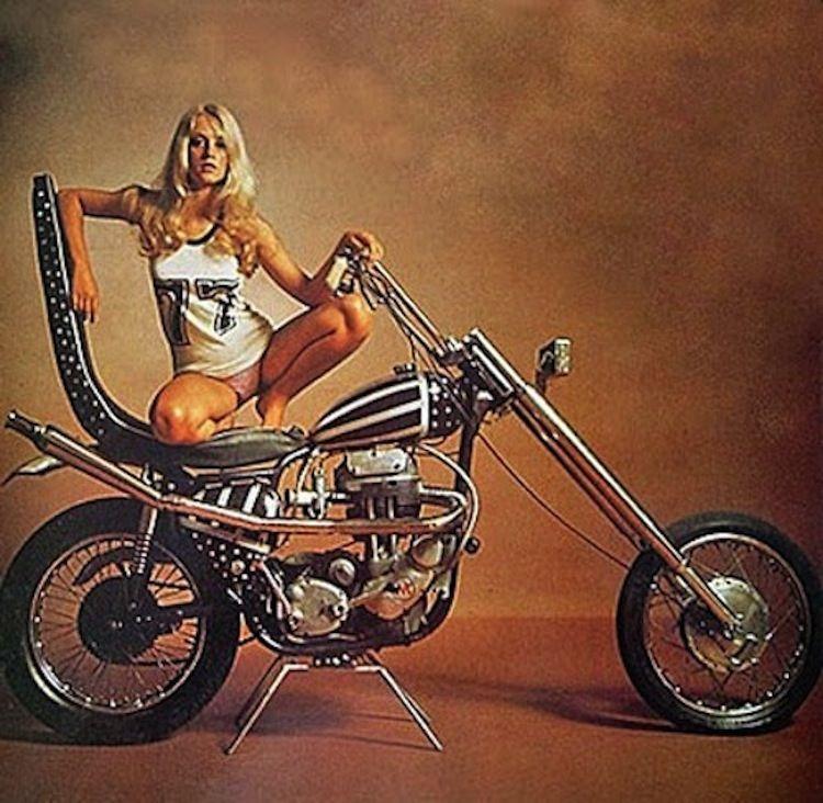 Single frau motorrad