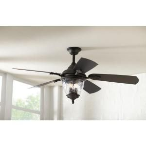 Home Decorators Collection Abercorn 52 In Iron Indoor Outdoor Ceiling Fan 14417 At The Home Depo Ceiling Fan Outdoor Ceiling Fans Home Decorators Collection