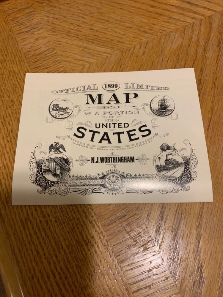 Red Dead Redemption Us Map.Red Dead Redemption 2 Map Of The United States Exclusive Rare Map