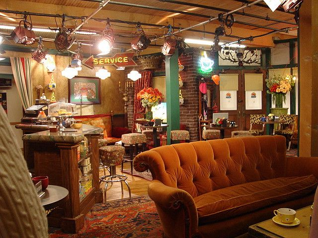 Central Perk Coffee Shop Friends Set Friends Cafe Friends Set Friends Tv