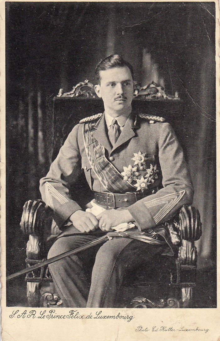 Prince Felix of Luxembourg, aka His Royal Highness Prince Felix of Bourbon Parma, was the husband of Charlotte, Grand Duchess of Luxembourg, his first cousin. Felix was one of the twelve children born to Duke Robert I of Parma and his second wife, Infanta Maria Antonia of Portugal. Felix and Charlotte had four girls, two boys, and a happy marriage.