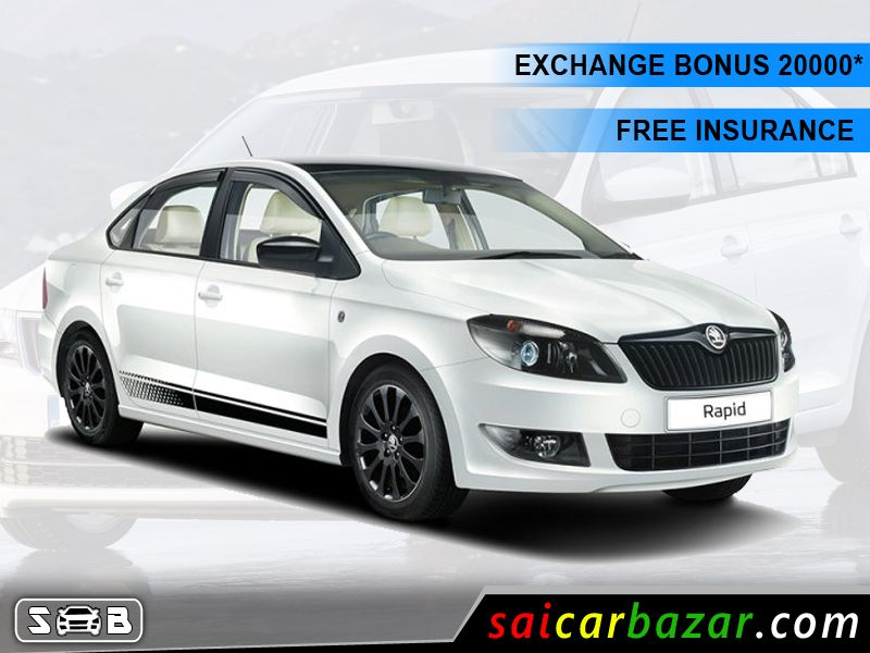 Get Exciting Offers On Skoda Rapid Stay Connected With Sai Car