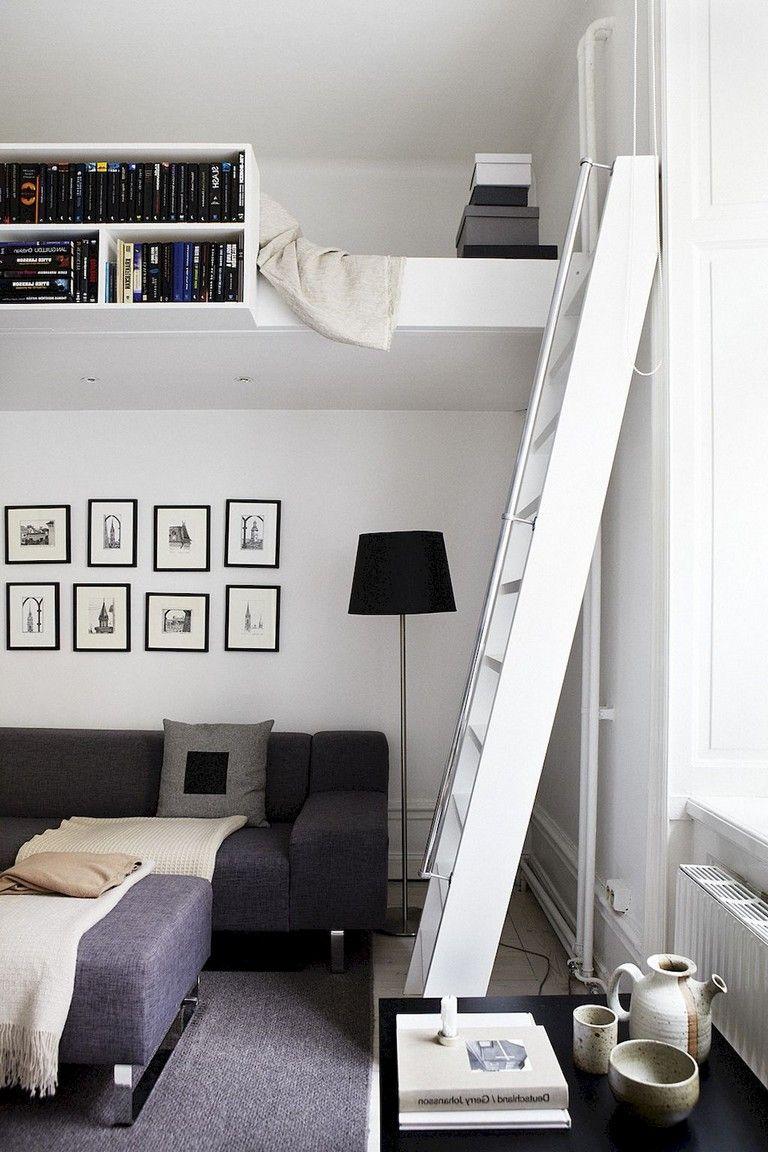 61 inspiring smart studio apartment decorating ideas apartment rh pinterest com