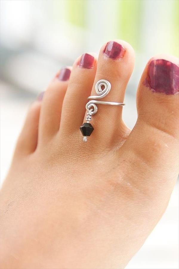 diy toe ring - Sök på Google | Wire | Pinterest | Draht ...
