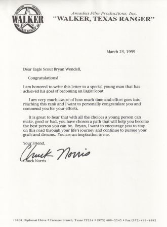 How To Obtain Congratulatory Letters For An Eagle Scout