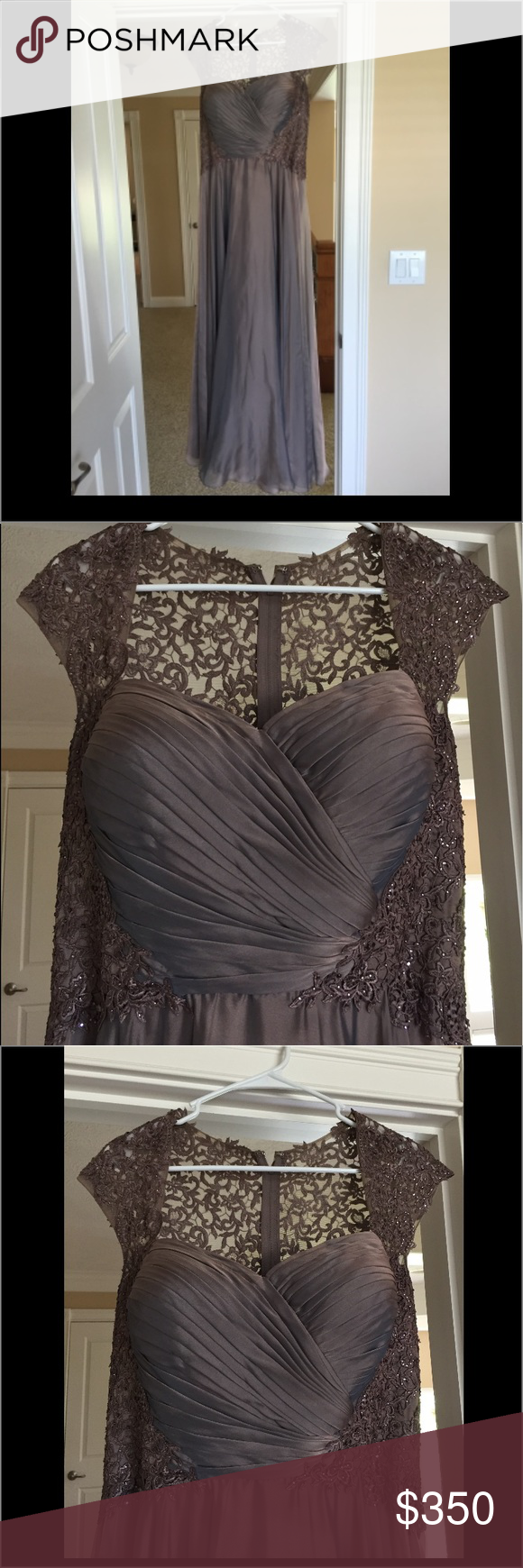 14ae600d1c3 Mother of the bride dress Brand new worn once. Purchased from NORDSTROM for   800. Great condition. Color cocoa Dresses Wedding
