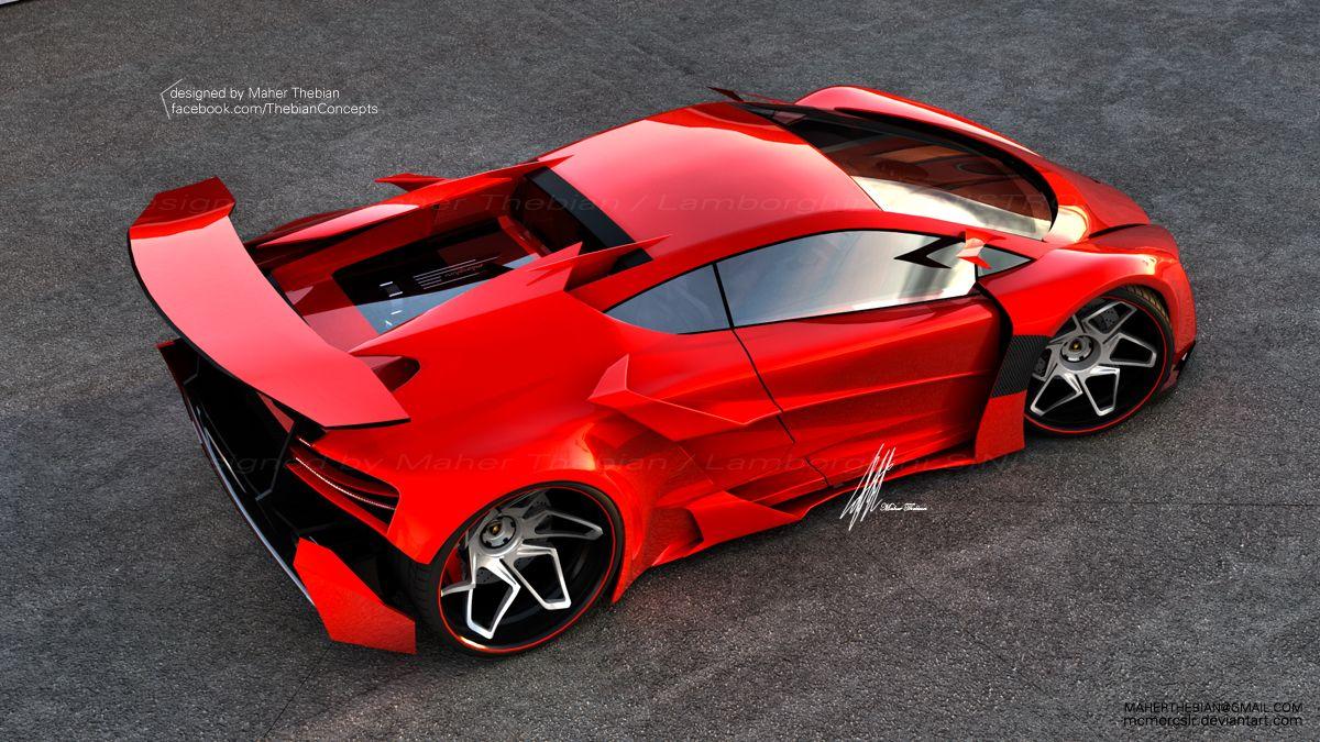 Superieur Lamborghini Sinistro Concept Design By Maher Thebian.