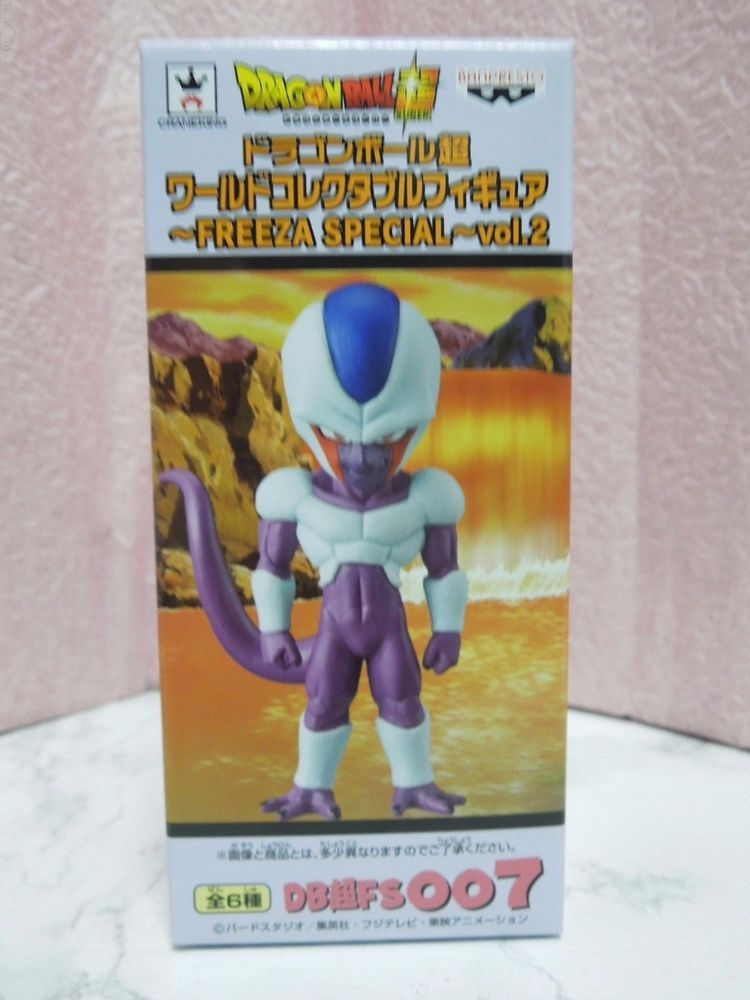NEW Dragon Ball Super World Collectable Figure Vol.2 007 Cooler Special