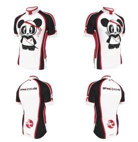 Spinn Cycles cycling jersey