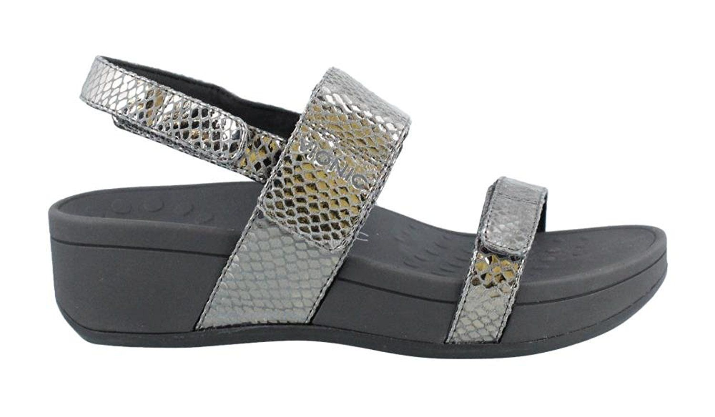 Bolinas Platform Sandal Pewter Snake