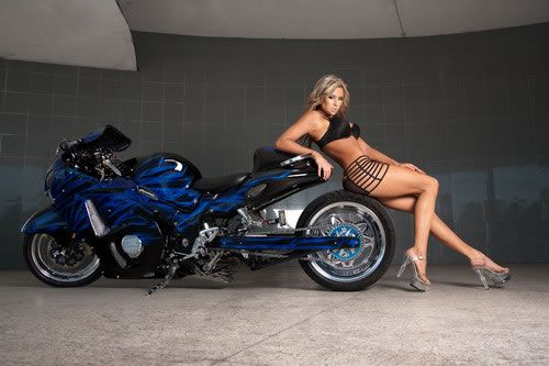 For Sale 2007 Hayabusa Custom Busa Love Biker Girl
