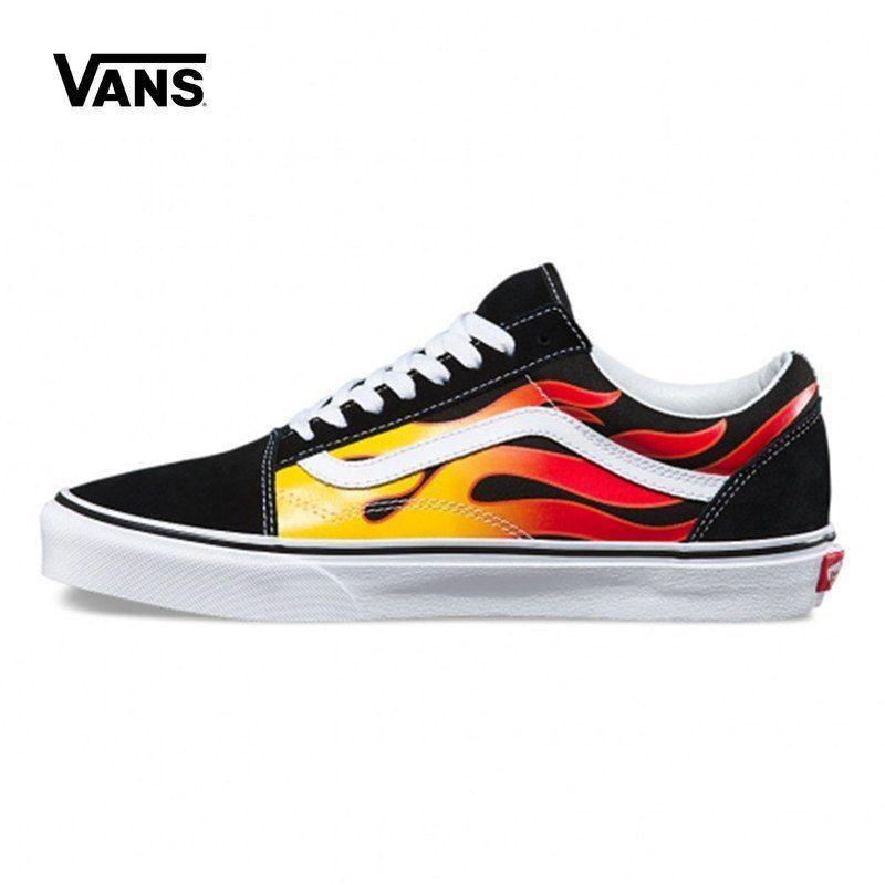 Original-Vans Unisex Rock Flammen Old School Skateboard #Unbranded ...