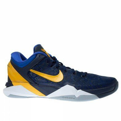 1cfb2625adda Nike Zoom Kobe VII 7 System Obsidian Yellow WBF Mens Basketball Shoes 488371 -404  US size 8.5