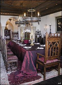 Renaissance Dining/ Game Of Thrones Glam/ Gothic Style