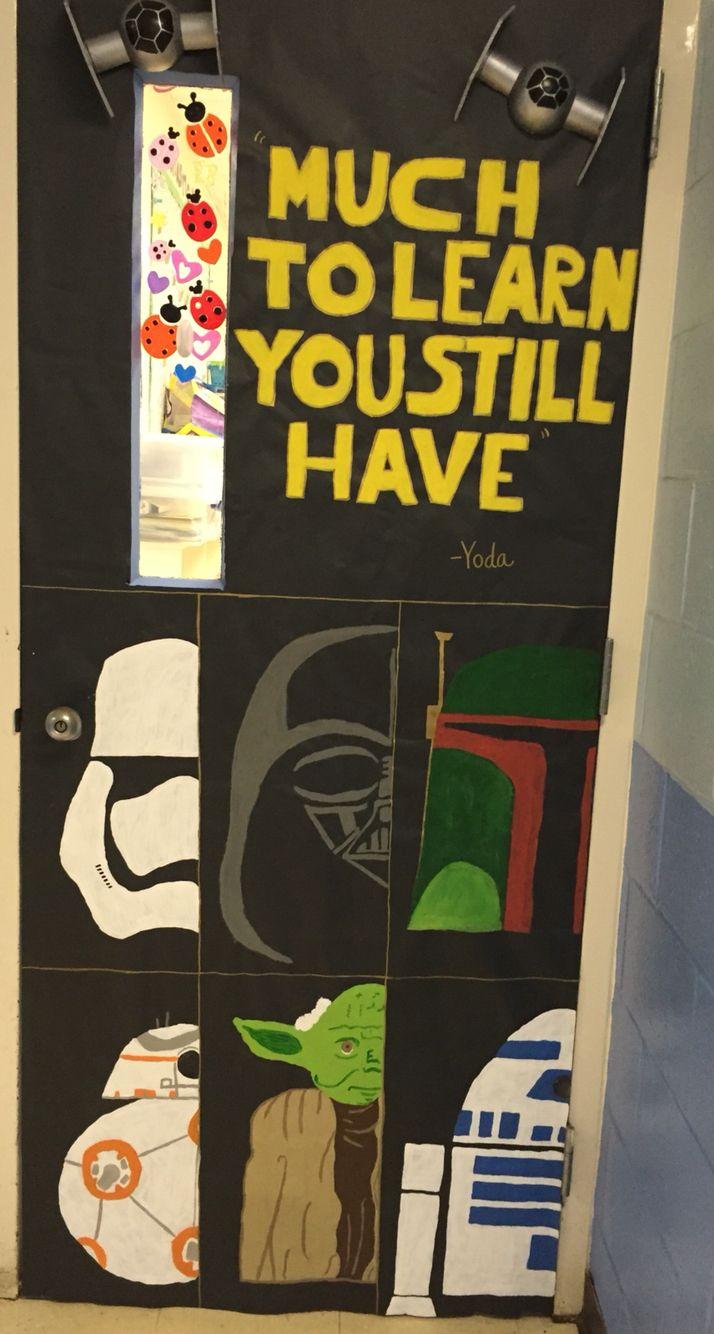Star Wars classroom door decoration | Classroom doors ...
