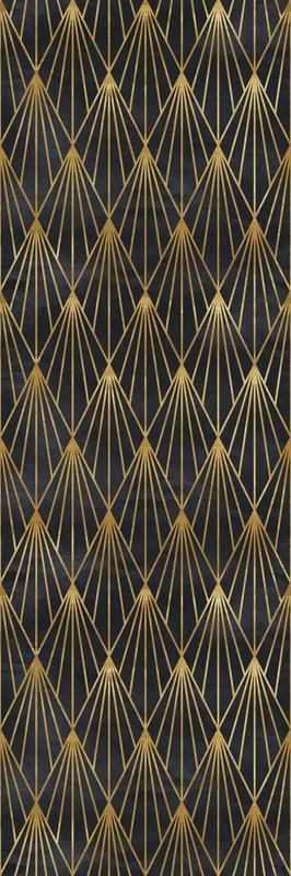 Mercer41 Upper Shockerwick Removable 4 17 L X 25 W Peel And Stick Wallpaper Roll Wayfair Art Deco Wallpaper Art Deco Pattern Mural Wallpaper