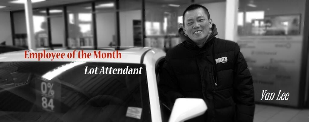 Our 2014 employee of the month! Mr. Van Lee -our lot attendant who has braved the cold winter air with a smile! We love you Van