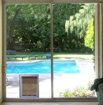Dog door for double sliding glass doors sunroom pinterest dog door for double sliding glass doors planetlyrics Gallery