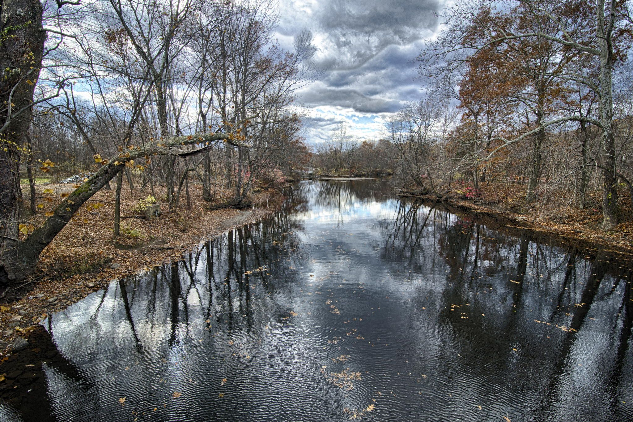 Autumn river by alex baker 500px