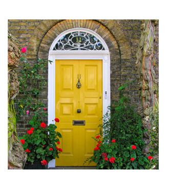 portas YELLOW  MUSTARD Pinterest Yellow doors, Doors and Gates
