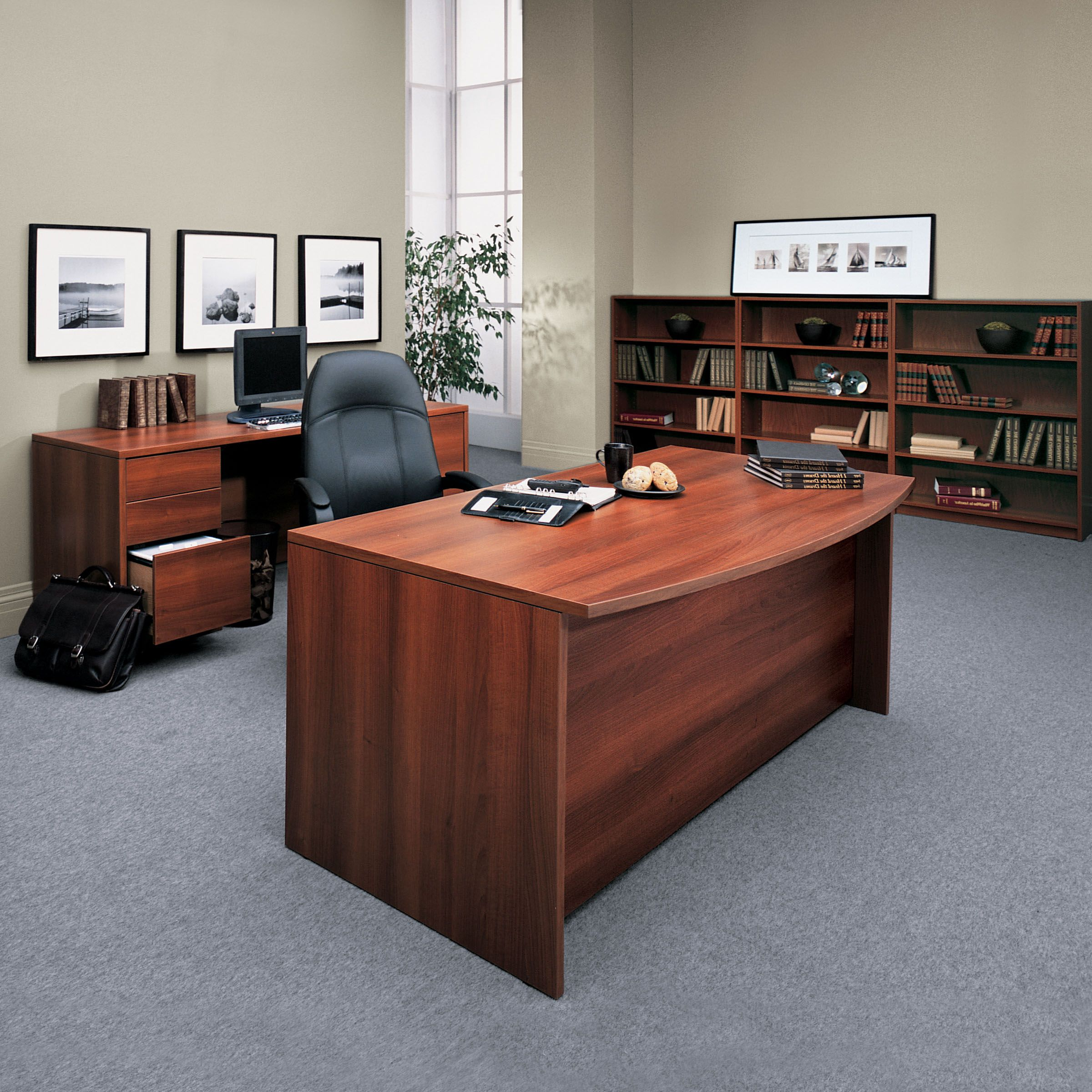This #Halton Desk Is A #gorgeous Look For #home, Or