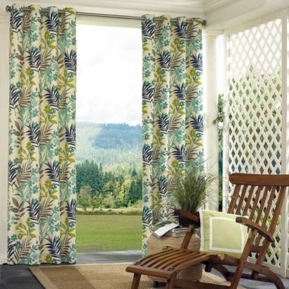 Superb Solace Indoor/ Outdoor Curtains.Opens In A New Window