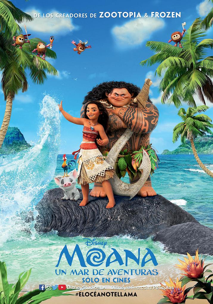 Disney Nos Presenta Su Nueva Pelicula Animada Otra De Las Mas Esperadas Del Ano La Llegada De Una Nueva Pr Moana Movie Disney Animated Movies Animated Movies