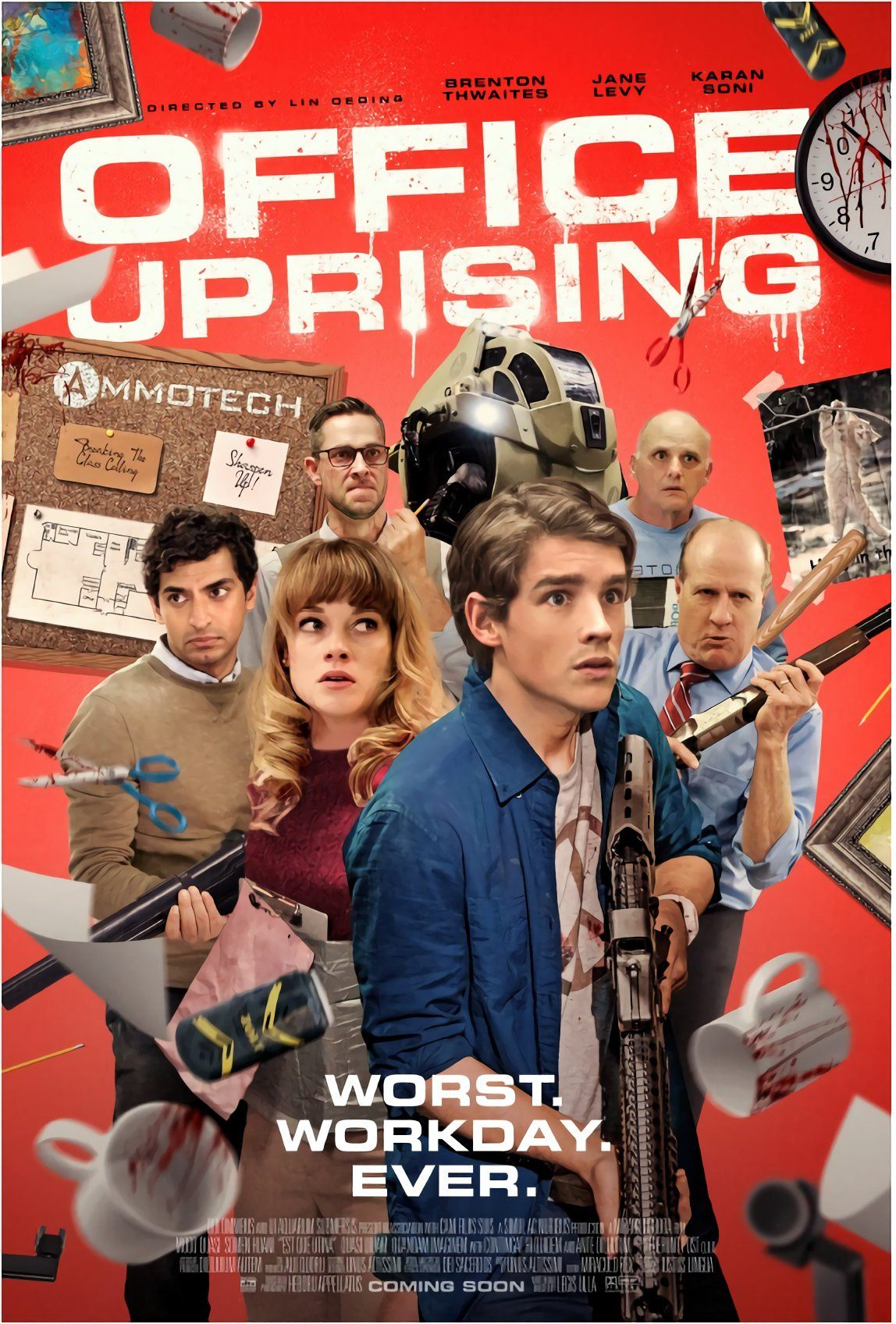 office uprising 2018 مترجم