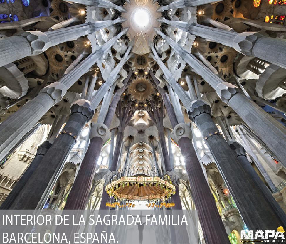 #SabíasQue: El Templo Expiatorio de la Sagrada Familia de Antoni Gaudí se llama así porque su construcción está siendo financiada por medio de donaciones de todo el mundo #España #Barcelona