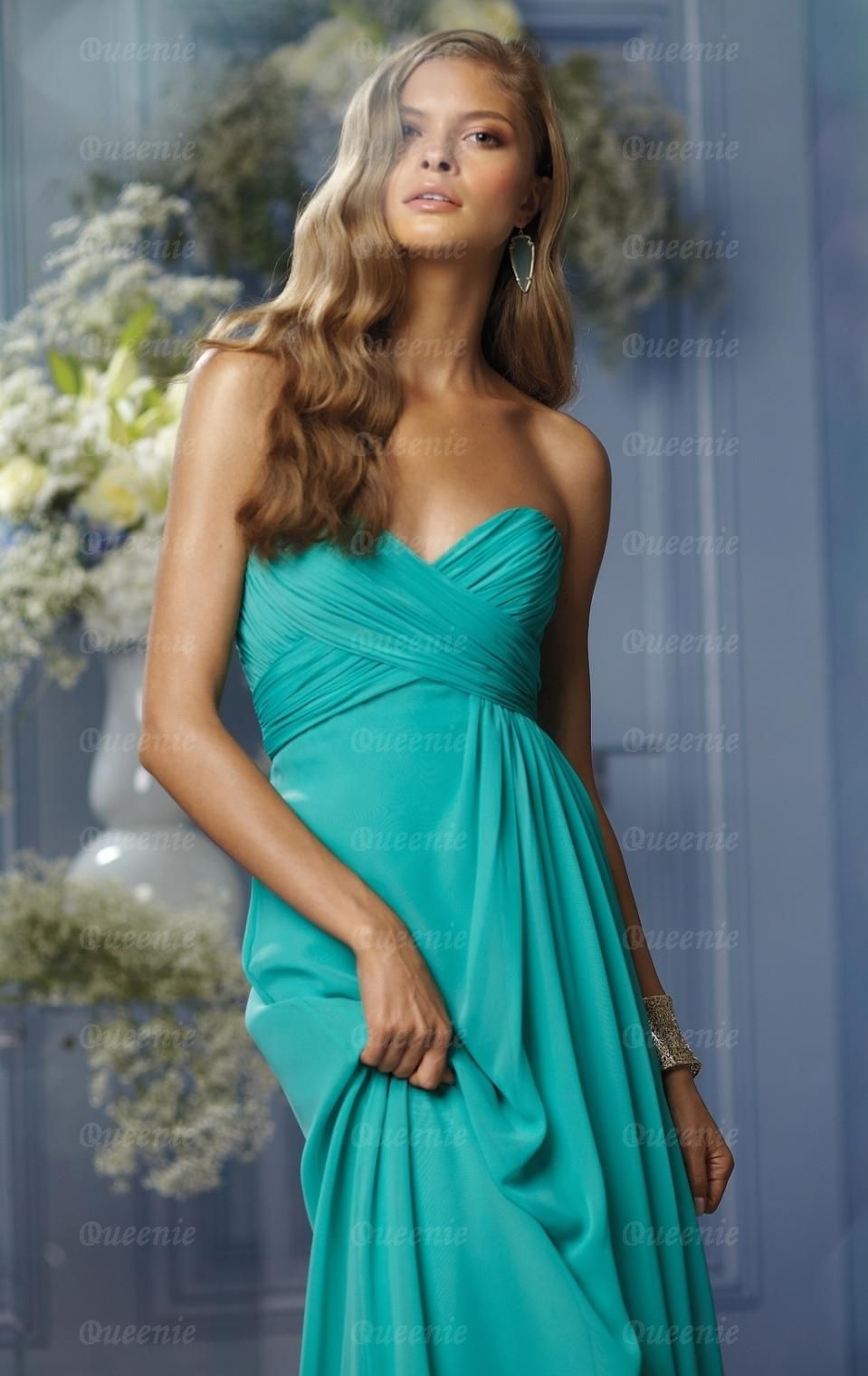 Unique green bridesmaid dress bnnbf prom dresses dark blues