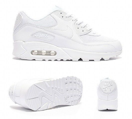 Nike Air Max 90 LTR (PS) White Size 12c 833414 100 #Nike