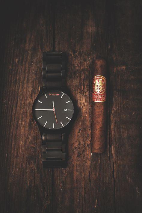 Photo of Black Link Watch | Men's – 45mm | Classic Series | MVMT