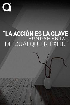 """#FraseDelDía: """"La acción es la clave fundamental de cualquier éxito"""" Pablo R. Picasso"""