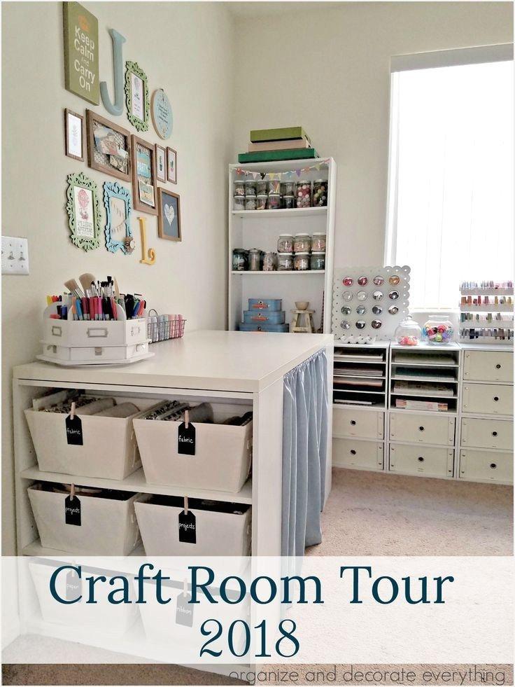 20 Inexpensive Craft Room Organization Ideas Homenthusiastic On A Budget Decor Design