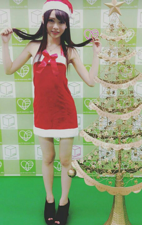 Atomi Shuri in Christmas dress
