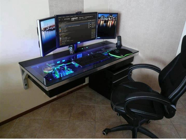 100 Futuristic Furniture Pieces Gaming Computer Desk Custom Computer Custom Built Computers
