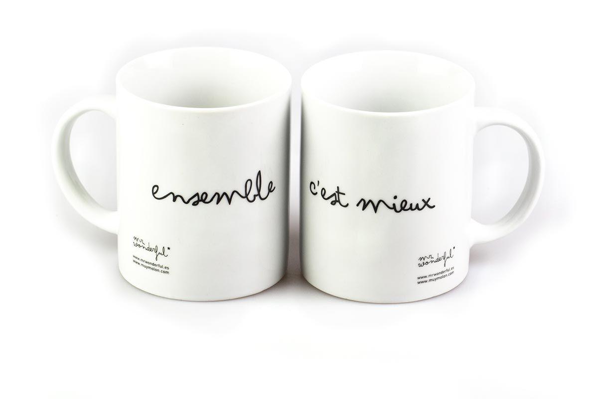 Des mugs, et des mots doux ! Découvrez les mugs créatifs et tout doux sur thetops.fr #Mrwonderful #mug #accessories #wording #tagline