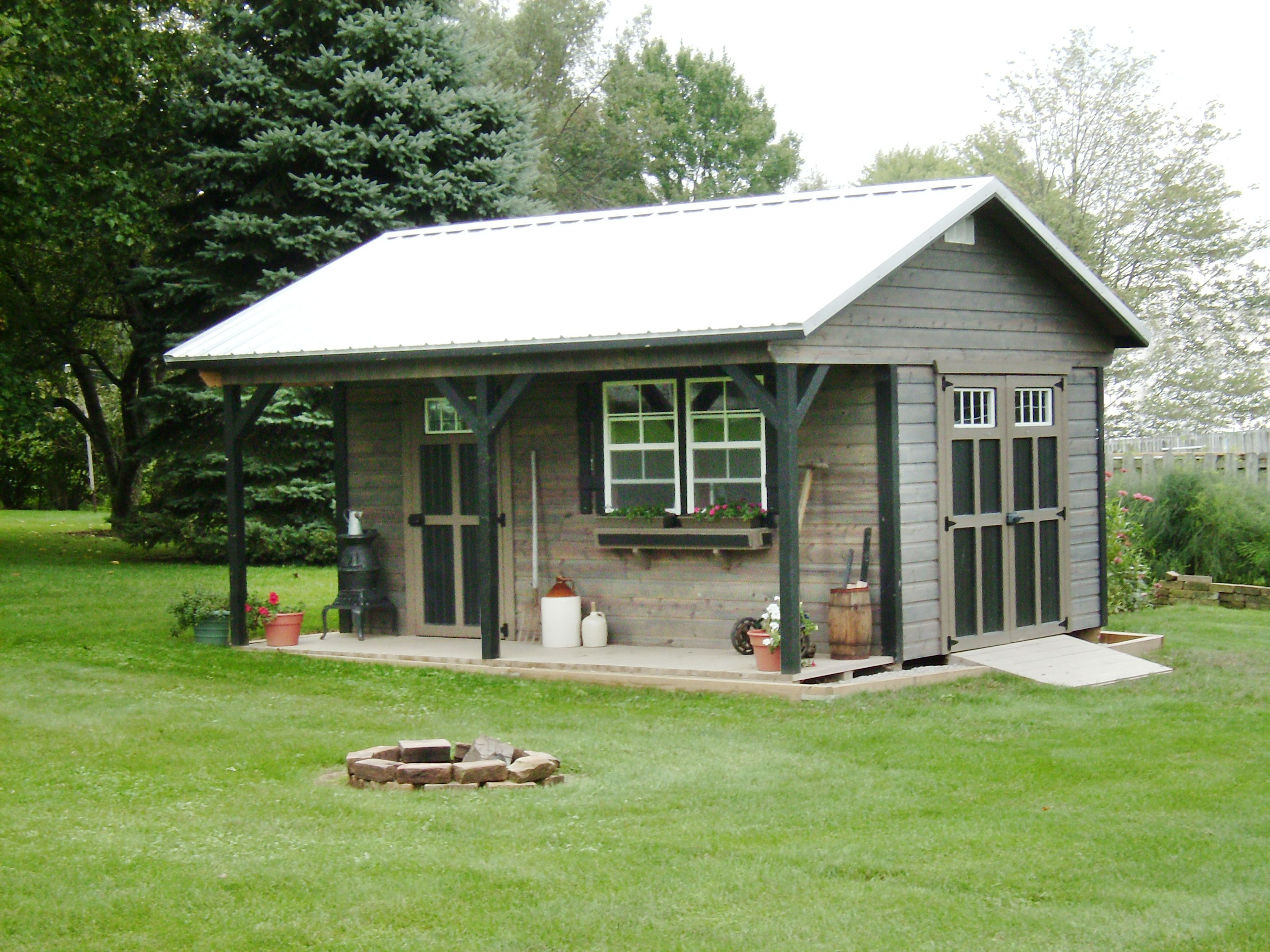 Cabins   Miller Storage Barns