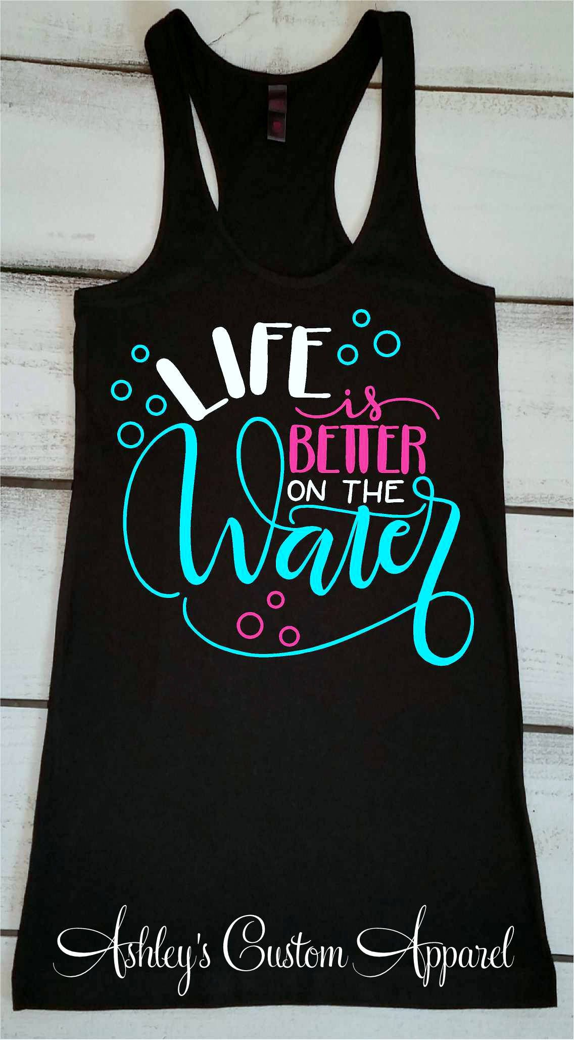 09ca018c60aad Cruise Shirts Boating Tank Top Life Is Better Girls Trip. Cruise Shirts  Boating Tank Top Life Is Better Girls Trip Beach Tanks ...