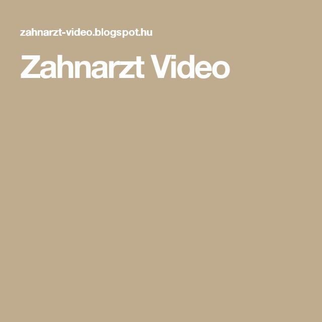 Zahnarzt Video