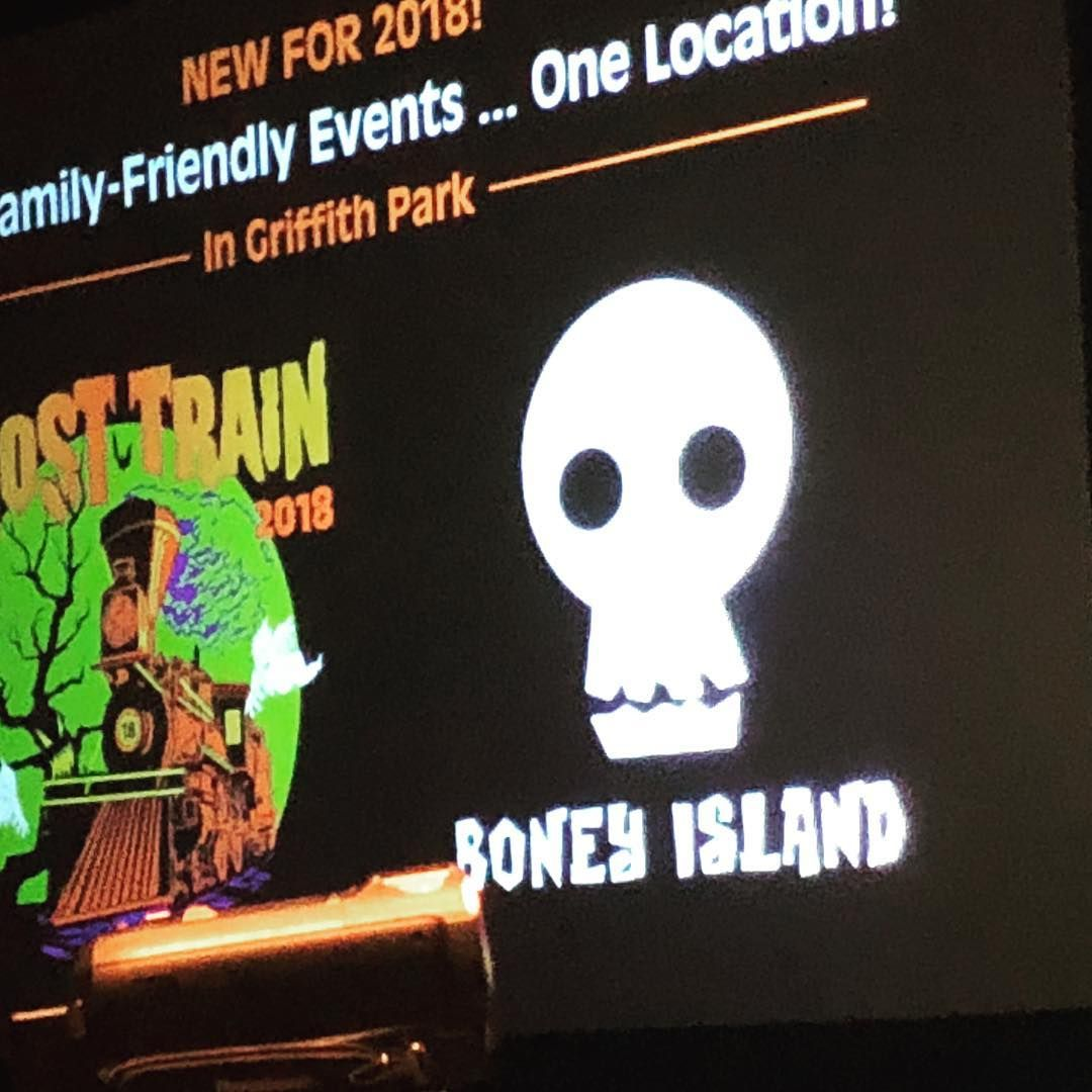 Boney Island in Griffith Park, Los Angeles, CA Halloween