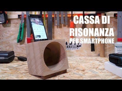 Photo of SUPPORTO IN LEGNO PER SMARTPHONE con cassa armonica – FAI DA TE – YouTube