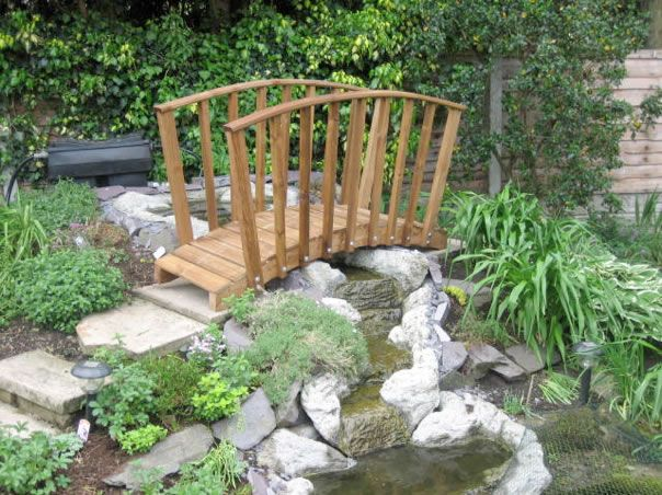 Charming Foot Bridges From Garden Bridge UK | Specialists In Wooden Bridges And Pond  Bridges